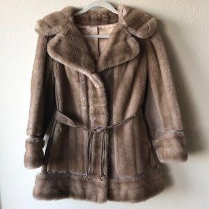 Jackets & Blazers - Vintage fur coat
